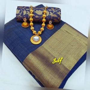 Plain tusser silk combo 11