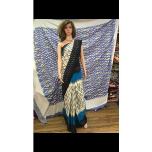 Pochampally double ikkath Cotton sarees 29