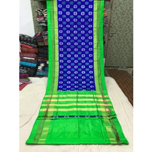 Ikkat silk saree 02