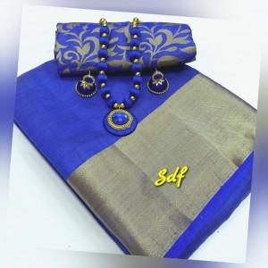Plain tusser silk combo 05