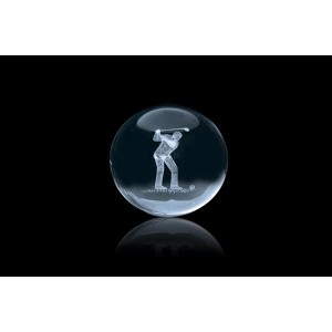 Crystal Ball 3D Crystal Gift
