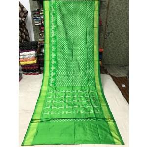 Ikkat silk saree 26