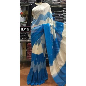 Pochampally double ikkath Cotton sarees 26