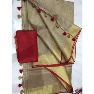 Linen Sarees ASB01