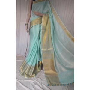Linen sarees 04