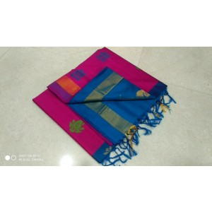 Handloom Tripura Silk Cotton Saree 34