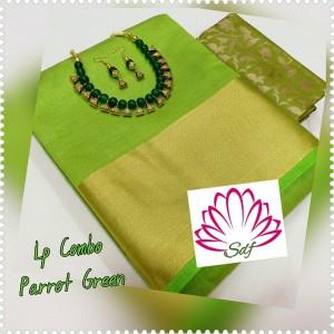 Plain tusser silk combo 18