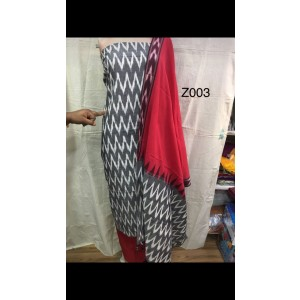 Pochampally ikkath cotton dress materials 20
