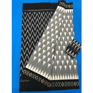 Pochampally double ikkath Cotton sarees 21