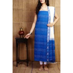 Pochampally ikkath cotton dress materials 01
