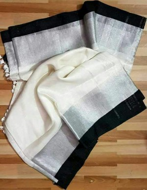 Linen Sarees ASB09