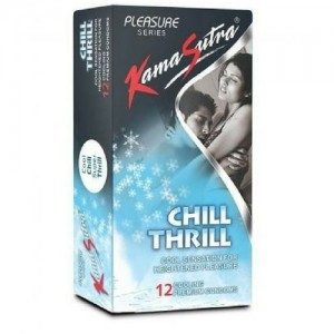 Kama sutra Chill Thrill Condom 12 Nos