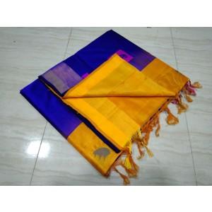 Handloom Tripura Silk Cotton Saree 46