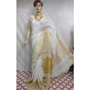Linen sarees 03