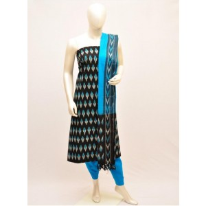 Pochampally ikkath cotton dress materials 19