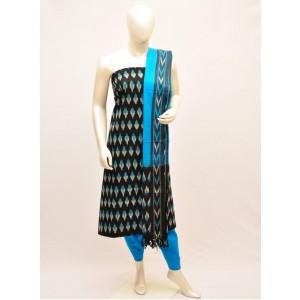 Pochampally ikkath cotton dress materials 19