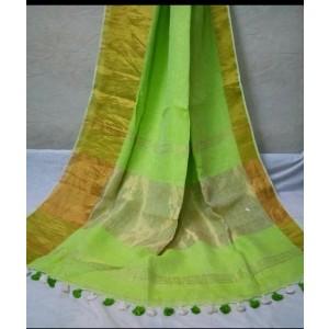 Linen sarees 02