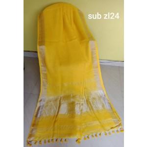 Linen saree 04