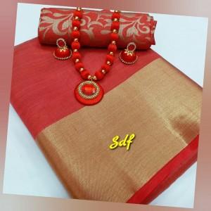 Plain tusser silk combo 13