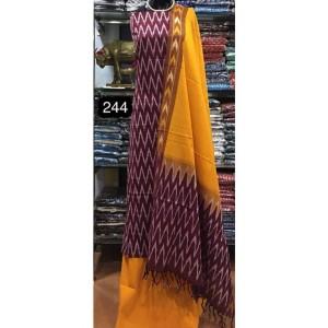 Pochampally ikkath cotton dress materials 17
