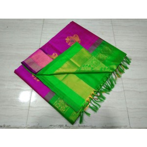 Handloom Tripura Silk Cotton Saree 30