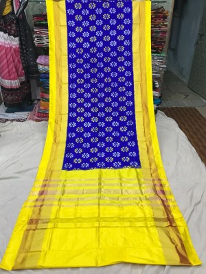 Ikkat silk saree 23