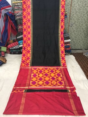 Ikkat silk saree 22