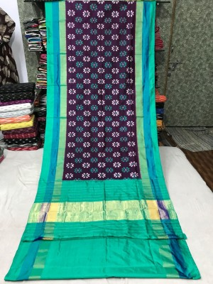 Ikkat silk saree 25
