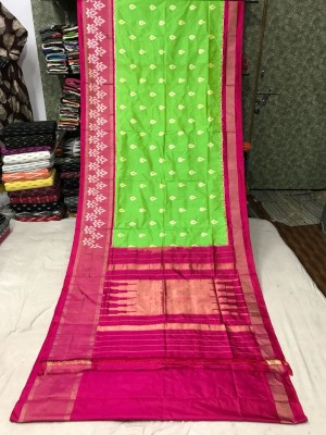 Ikkat silk saree 29