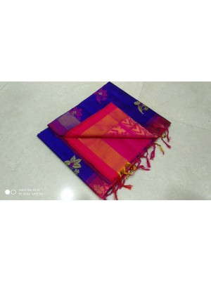 Handloom Tripura Silk Cotton Saree 37