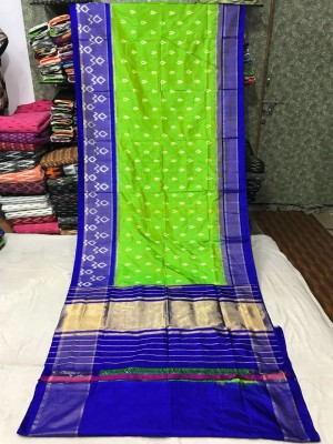 Ikkat silk saree 28