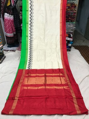 Ikkat silk saree 21