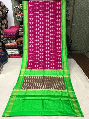 Ikkat silk saree 30